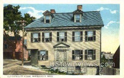 Old Lafayette House - Marblehead, Massachusetts MA Postcard