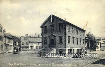 The Old Town House - Marblehead, Massachusetts MA Postcard