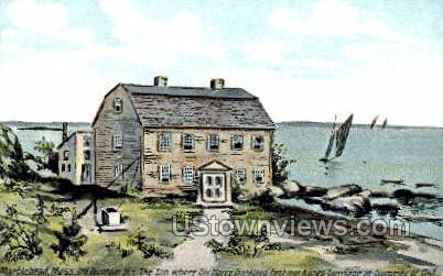Old Fountain Inn - Marblehead, Massachusetts MA Postcard