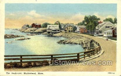 The Blvd. - Marblehead, Massachusetts MA Postcard