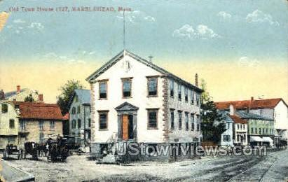 Old Town House - Marblehead, Massachusetts MA Postcard