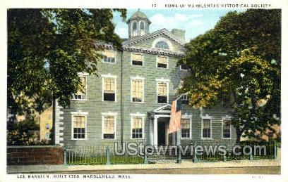 Lee Mansion - Marblehead, Massachusetts MA Postcard