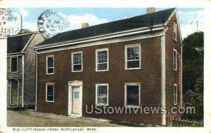 Old Floyd Ireson House - Marblehead, Massachusetts MA Postcard