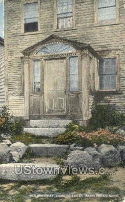 Old Doorway - Marblehead, Massachusetts MA Postcard
