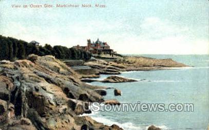 Ocean Side - Marblehead, Massachusetts MA Postcard