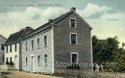 Floyd Treson House - Marblehead, Massachusetts MA Postcard