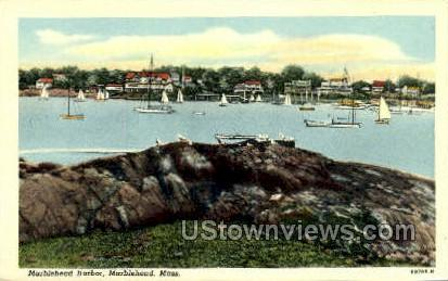 Marblehead Harbor - Massachusetts MA Postcard