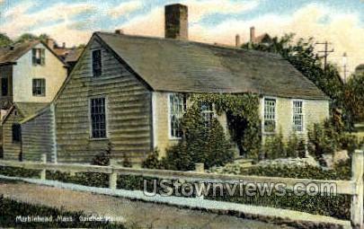 Gardner House - Marblehead, Massachusetts MA Postcard