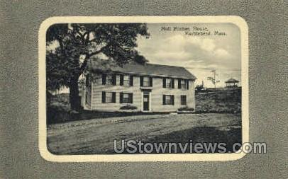 Molly Pitchers Birthplace - Marblehead, Massachusetts MA Postcard