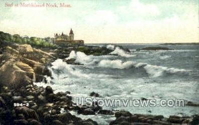 Surf - Marblehead, Massachusetts MA Postcard