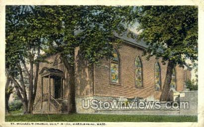 St. Michael's Church - Marblehead, Massachusetts MA Postcard