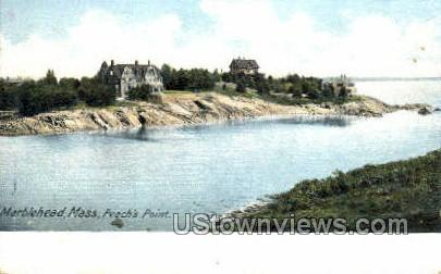 Peach's Point - Marblehead, Massachusetts MA Postcard