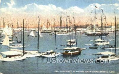 New York Fleet - Marblehead, Massachusetts MA Postcard