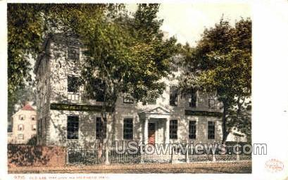 Old Lee Mansion - Marblehead, Massachusetts MA Postcard