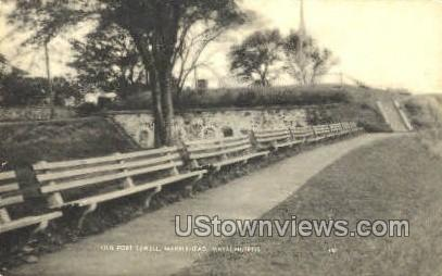 Old Fort Sewell - Marblehead, Massachusetts MA Postcard