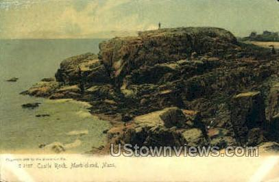 Castle Rock - Marblehead, Massachusetts MA Postcard