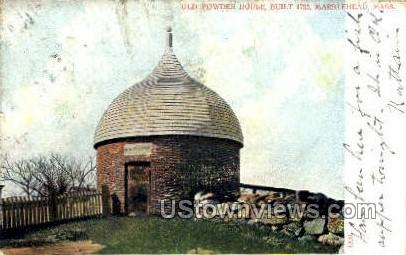 Old Powder House - Marblehead, Massachusetts MA Postcard