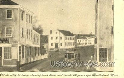 Old Hinkley Building - Marblehead, Massachusetts MA Postcard