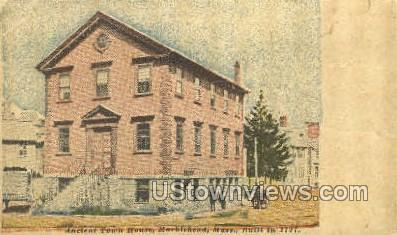 Ancient Town House - Marblehead, Massachusetts MA Postcard