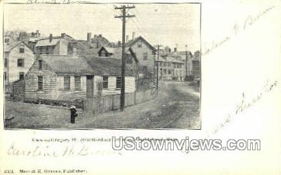 Gregory St. - Marblehead, Massachusetts MA Postcard