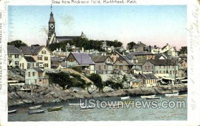 Rockmere Point - Marblehead, Massachusetts MA Postcard