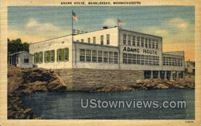 Adams House - Marblehead, Massachusetts MA Postcard