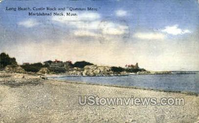 Long Beach - Marblehead, Massachusetts MA Postcard