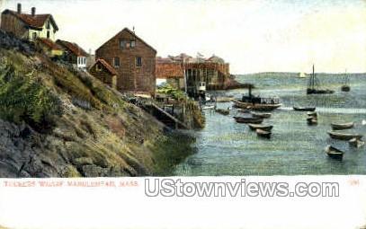 Tucker's Wharf - Marblehead, Massachusetts MA Postcard
