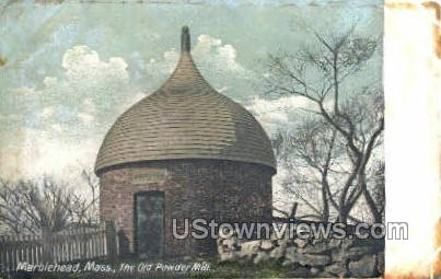 The Old Powder House - Marblehead, Massachusetts MA Postcard