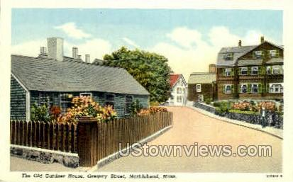 The Old Gardner House - Marblehead, Massachusetts MA Postcard