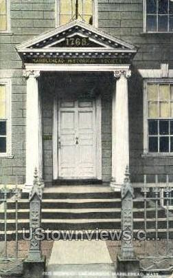 Old Doorway, Lee Mansion - Marblehead, Massachusetts MA Postcard
