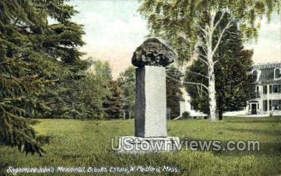 Brooks Estate - Medford, Massachusetts MA Postcard