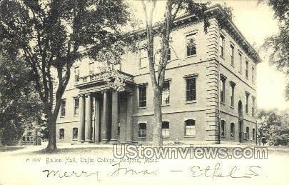 Ballou Hall, Tufts College - Medford, Massachusetts MA Postcard