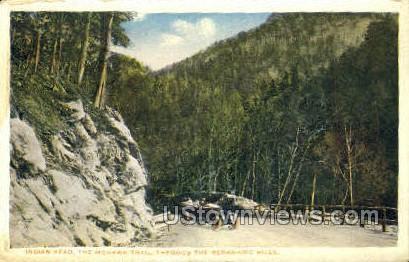 Indian Head - Mohawk Trail, Massachusetts MA Postcard