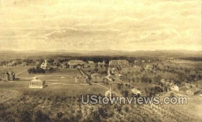 Mt Hermon, Massachusetts, MA Postcard