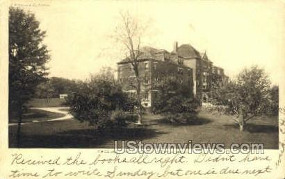 Crossley Hall - Mt Hermon, Massachusetts MA Postcard