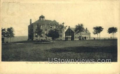 Siliman Laboratory - Mt Hermon, Massachusetts MA Postcard