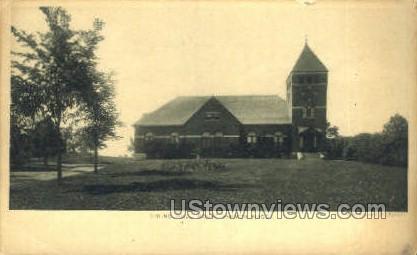 Dining Hall - Mt Hermon, Massachusetts MA Postcard