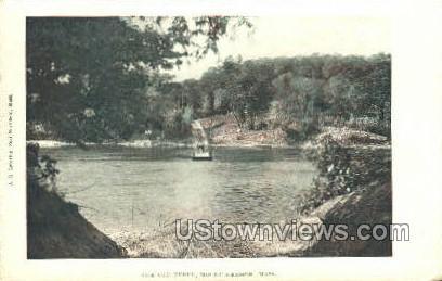 The Old Ferry - Mt Hermon, Massachusetts MA Postcard