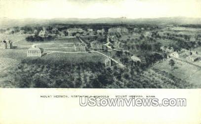 Northfield Schools - Mt Hermon, Massachusetts MA Postcard