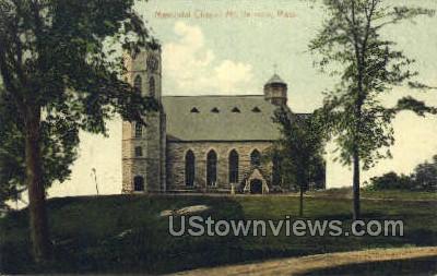 Memorial Chapel - Mt Hermon, Massachusetts MA Postcard