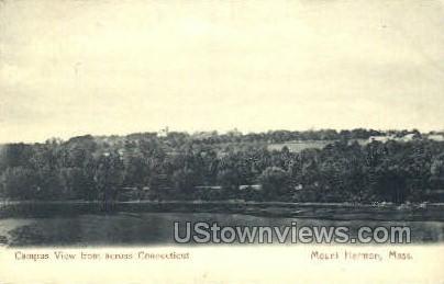 Campus - Mt Hermon, Massachusetts MA Postcard