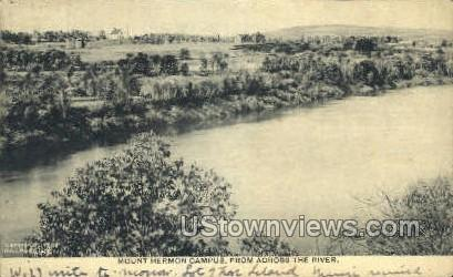 Mount Hermon Campus - Mt Hermon, Massachusetts MA Postcard