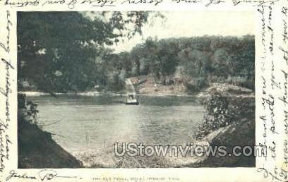 The Old Ferry - Mt Hermon, Massachusetts MA Postcard