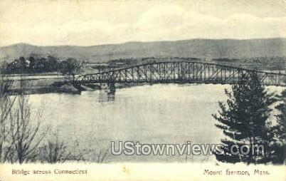 Bridge - Mt Hermon, Massachusetts MA Postcard