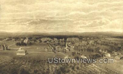 The Northfield Schools - Mt Hermon, Massachusetts MA Postcard