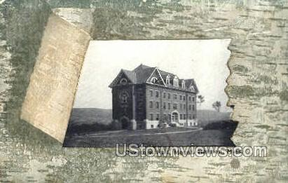 Overtoun Hall - Mt Hermon, Massachusetts MA Postcard
