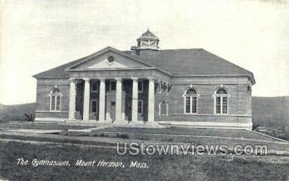 The Gymnasium - Mt Hermon, Massachusetts MA Postcard
