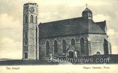 The Chapel - Mt Hermon, Massachusetts MA Postcard