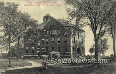 Mt Hermon Boys School - Massachusetts MA Postcard